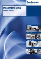 Catalog Mechanical seals, magnetic couplings
