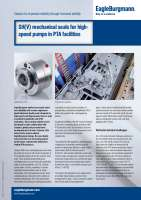 Solution: SHV for Sundyne pumps in PTA facilities